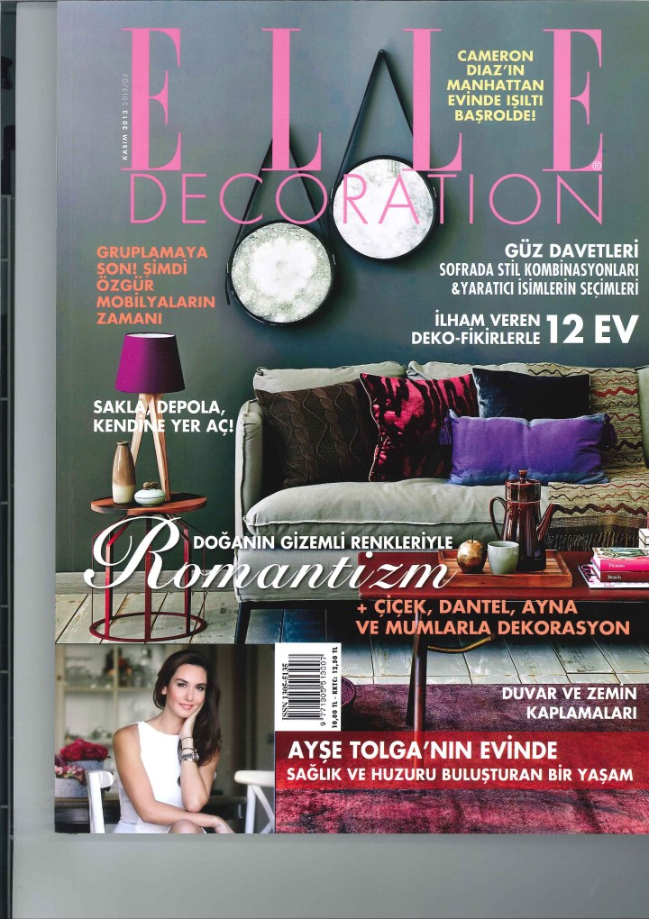 ELLE DECORATION TURKISH