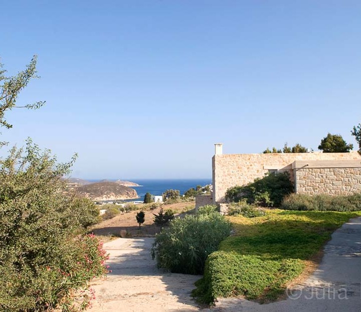 Stone house in Patmos