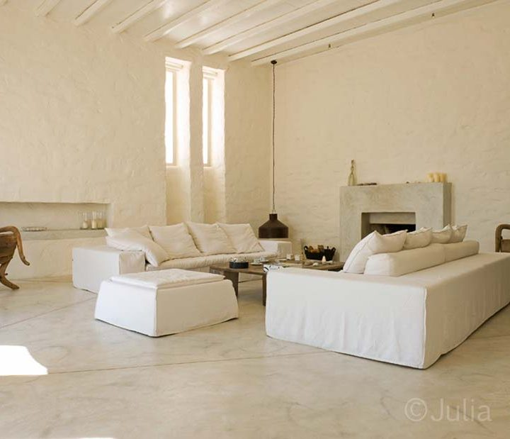 Cycladic country home