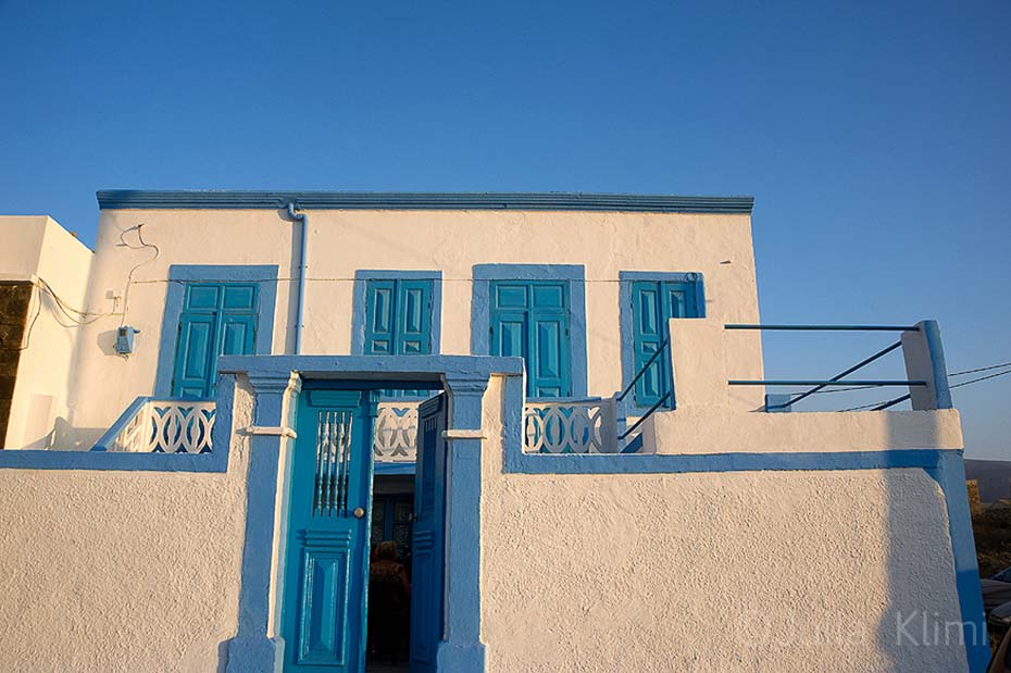 Neoclassical house of Fry, Kassos island, Dodecanese, Greece