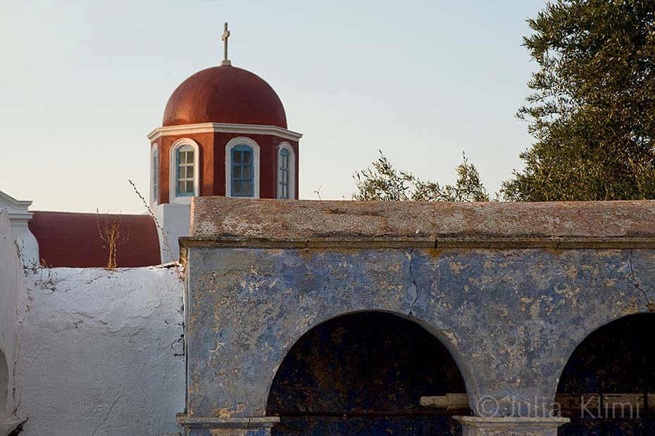 Church of Arvanitohori village, Kasos ilsland