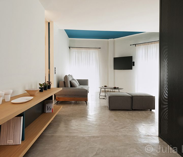 Athens apartments by Mplusm architects