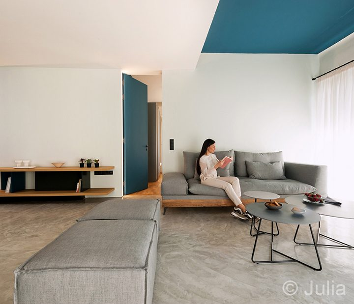 Modern Urban apartments by MPLUSM architects. Athens center